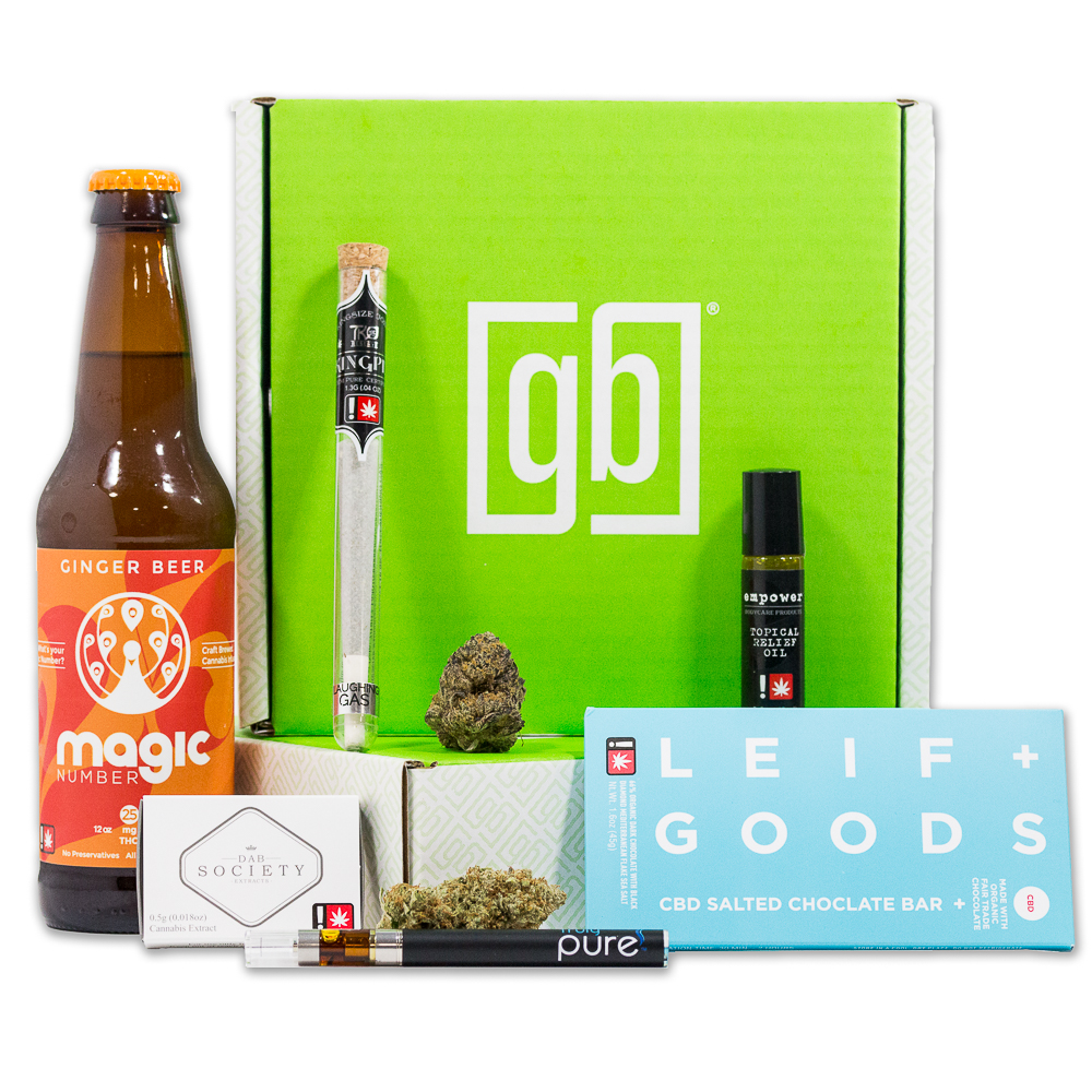 Weed Delivery Portland - Green Box Premium Cannabis Delivered