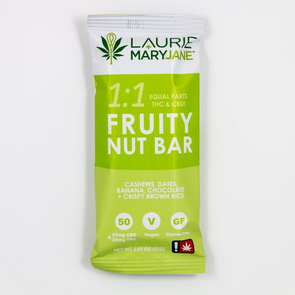 One:One Fruity Nut Bar Laurie + MaryJane Vegan Gluten Free | Green Box