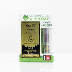 Fire OG Chem Liquid Live Resin Cartridge | Green Box