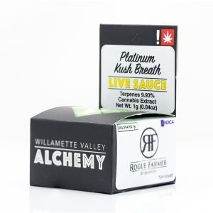 Platinum Kush Breath Live Sauce | Green Box