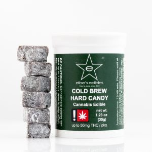 Cold Brew Hard Candy by Elbe's Edibles | Green Box