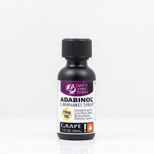 Adabinol Cannabis Syrup - Grape - Dirty Arm Farm | Green Box