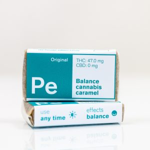 PE Balance Cannabis Caramel | Green Box