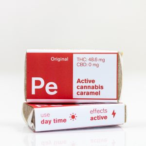 PE Active Cannabis Caramel | Green Box