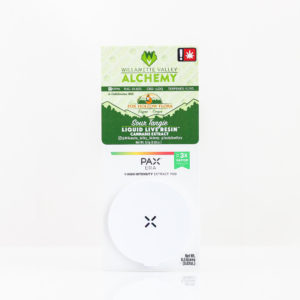 Sour Tangie Liquid Live Resin Pax Pod by WVA + Fox Hollow Flora | Green Box