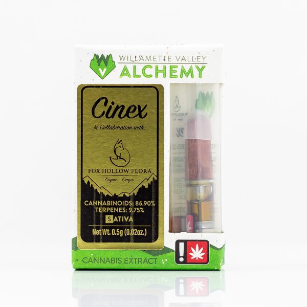 Cinex LLR CCELL Vape Cartridge by WVA